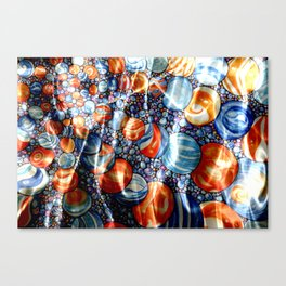 Marbles Under Water Canvas Print