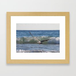 Fly Away Gull 6950 Framed Art Print