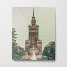Warsaw Poland Travel Photography Metal Print