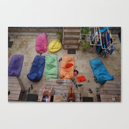 Bean Bags Canvas Print