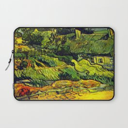 Les Chaumes (Thatched Cottage) Laptop Sleeve