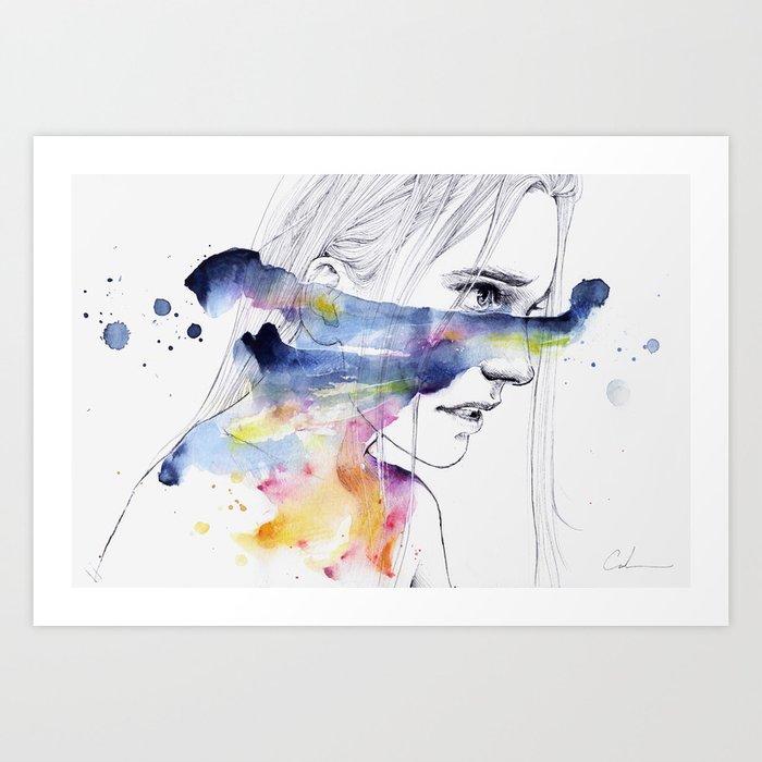 the water workshop IV Art Print