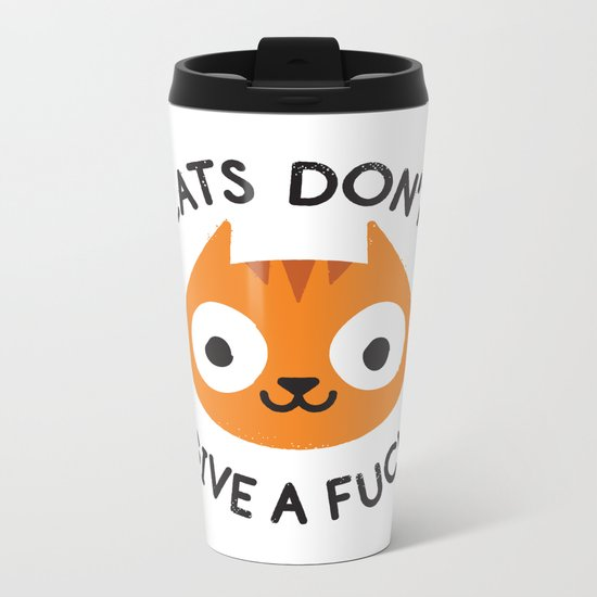Careless Whisker Metal Travel Mug