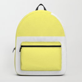 Yellow top Backpack