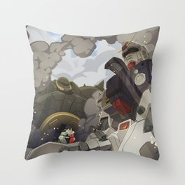 08th ms team: secret love of two enemies Throw Pillow