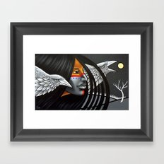 Ice Sentry Framed Art Print