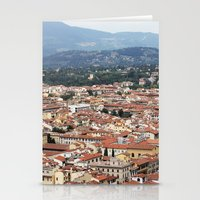 florence Stationery Cards featuring Florence by Anya Kubilus