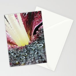 Wet Tiny Poem Lily 003 Stationery Cards