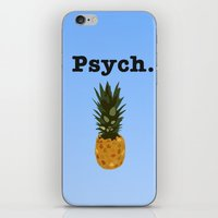 psych iPhone & iPod Skins featuring Psych by Lauren Lee Design's
