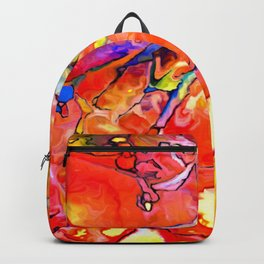 Fire Opal Impressions Backpack