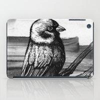 sparrow iPad Cases featuring Sparrow by Chuchuligoff