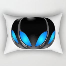 3 Alien Amigos Visit Rectangular Pillow