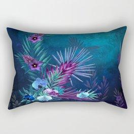 Night Falls on Blue Hawaii Rectangular Pillow