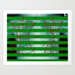 Figure 57 (Diagram Series) Art Print