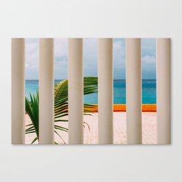 Cozumel Colours Canvas Print