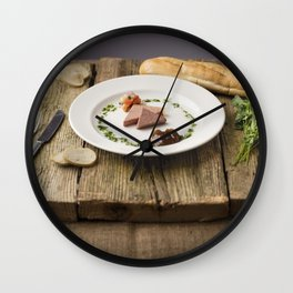 Pate Anyone? Wall Clock
