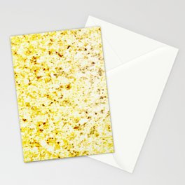 Dirty Gold Melted Molten Metal Stationery Cards