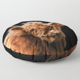 Highland Cow Floor Pillow