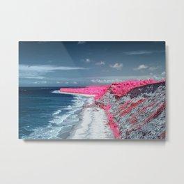 Coastline Beach Metal Print