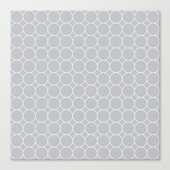 Soft Pattern #1  Canvas Print