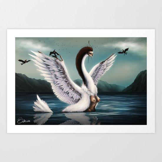 Harpies Art Print