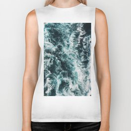 Green Seas, Yes Please Biker Tank