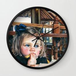 At the Big People Table Wall Clock