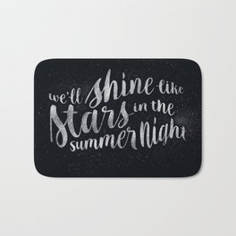 Shine Like Stars - Summer Bath Mat