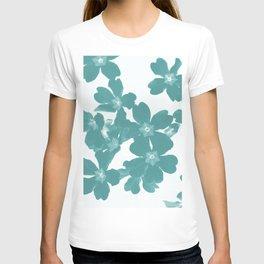 Floral Teal T-shirt