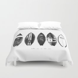 Fashion Surfboards Duvet Cover
