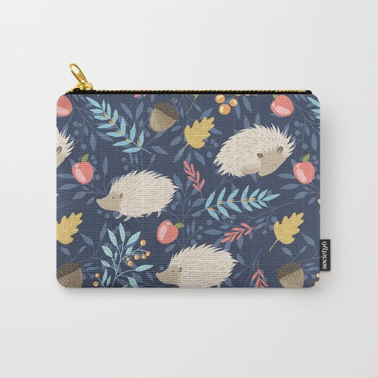 White hedgehogs Carry-All Pouch
