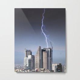 Thunder Metal Print