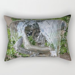 Fountain Rectangular Pillow