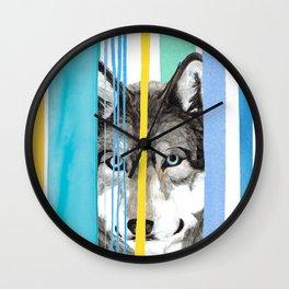 Dreamy WOLF Wall Clock