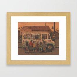 Summer Break Framed Art Print