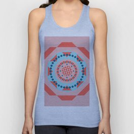 geometric pattern Unisex Tank Top