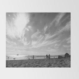 Summer's Sky Throw Blanket