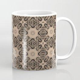 Hazelnut Floral Coffee Mug