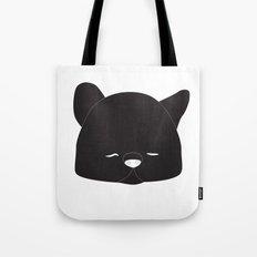 Pussy Gato Black Tote Bag
