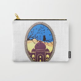 Indian cat view Carry-All Pouch