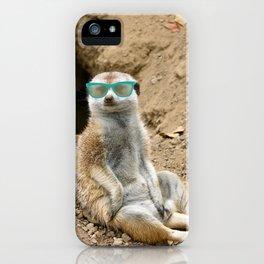 Sunny Meerkat iPhone Case