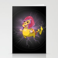 magneto Stationery Cards featuring Electro Magneto by Arthur Porto