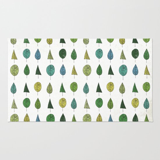 TREES MAKE A FOREST Rug