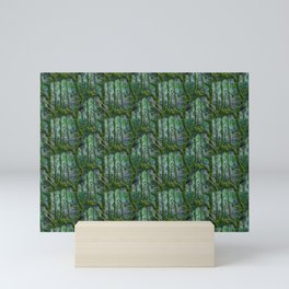 Rural life - a mysterious forest Mini Art Print