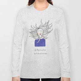 the air Long Sleeve T-shirt