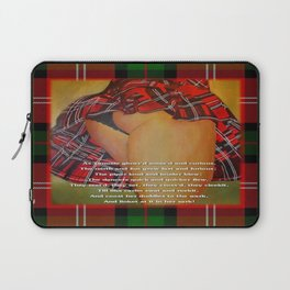 The Dancers Quick and Quicker Flew Burns Supper Laptop Sleeve