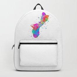 Guam Map Backpack