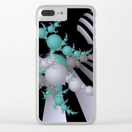 going mandelbrot -1- Clear iPhone Case