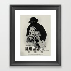 R. W. Framed Art Print