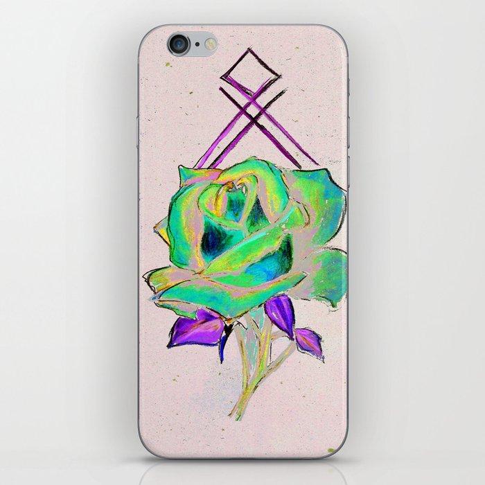 GeoRose iPhone Skin